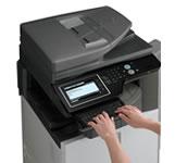 SHARP MX-2614NSX színes + MXDE12 kazettás gépasztal lízing ajánlat